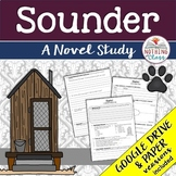 Sounder Novel Study Unit: comprehension, vocabulary, activities, tests