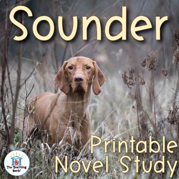 Sounder Novel Study Book Unit Printable Version