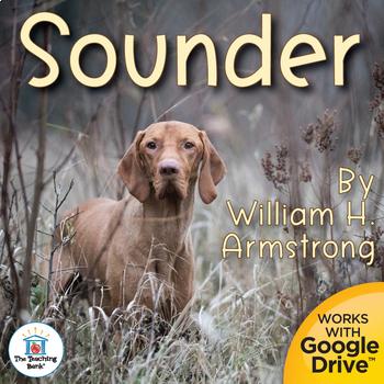 Sounder Novel Study Book Unit