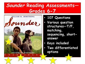 Sounder Reading Assessments—Grades 6-7