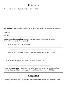 Sounder Reading Packet