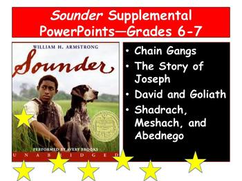 Sounder Supplemental PowerPoints—Grades 6-7