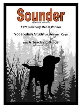 Sounder Vocabulary Study