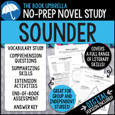 Sounder Novel Study - Distance Learning - Google Classroom