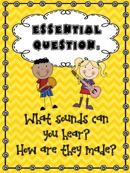 Sounds All Around - Wonders First Grade - Unit 5 Week 4