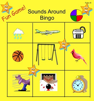 Sounds Around Bingo