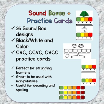 Sounds Box + Practice Cards