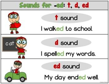 Ed Endings Worksheets Teaching Resources Teachers Pay Teachers