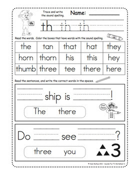 Sounds Fun Phonics Worksheets Vol. 1