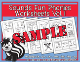 Sounds Fun Phonics Workbook Vol. 1 Sample