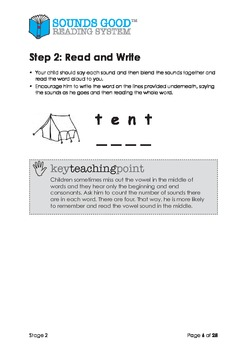 Sounds Good Reading - Stage 2