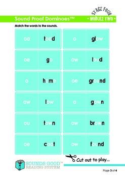 Sounds Good Reading - Stage 4 Module 2 Activity Bundle 'ow' (6pcs)