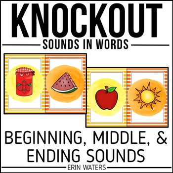 Sounds KNOCKOUT {Beginning, Middle, & Ending Sounds}