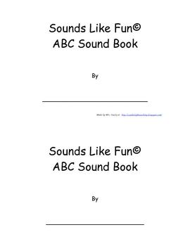 Sounds Like Fun Emergent Reader