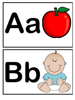 Sounds Like Learning Alphabet Flash Cards