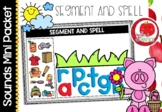 Sounds Literacy Centre Mini-Packets: Segment and Spell