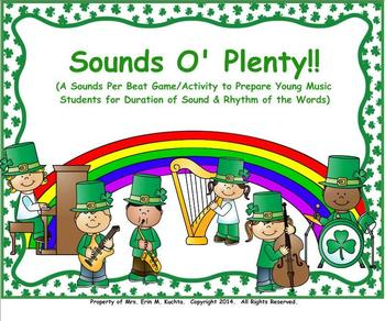 Sounds O' Plenty! - A Sounds Per Beat Game/Activity