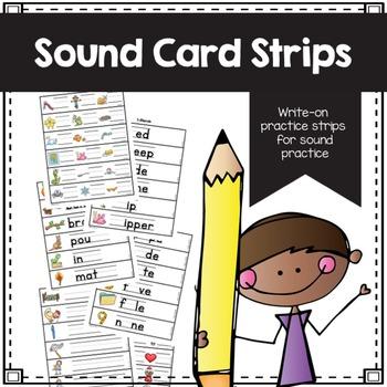 Sound Card Strips - Phonics