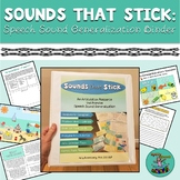 GREAT FOR TELETHERAPY! Sounds That Stick: BINDER for Artic