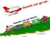 Sounds UP Sounds Down SMARTBoard Listening Activity