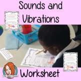 Sounds, Vibrations and Hearing Worksheets