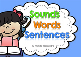 Sounds Words Sentences