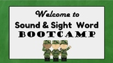 Sounds and Sight Word PowerPoint Bootcamp