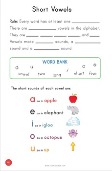 Sounds and Spelling Rules Student Workbook