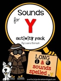 Sounds for Y Activity Pack