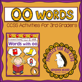 Words with oo Crossword Puzzle - Common Core Grade 3 - Pho
