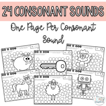 Sounds in Isolation- Do a Dot pages for Articulation/Phonology