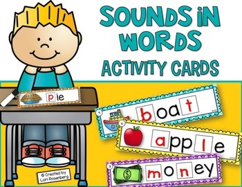 Sounds in Words Activity Cards