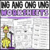 Phonics sounds: ing, ang, ong, ung!