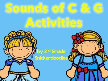 Sounds of C and G Activities