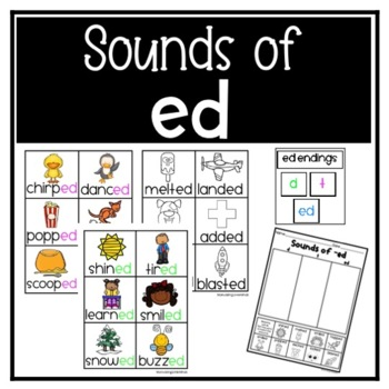 Sounds of ED Sorting Cards and Game Cards