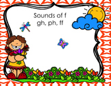 Sounds of F (ph, gh, ff) Differentiated Task Cards