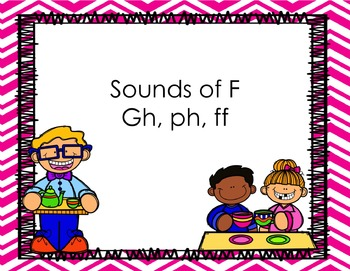 Sounds of F pp (ph, ff, gh)
