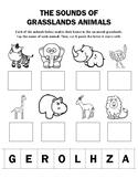 Sounds of Grasslands Animals