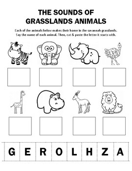 Sounds of Grasslands Animals
