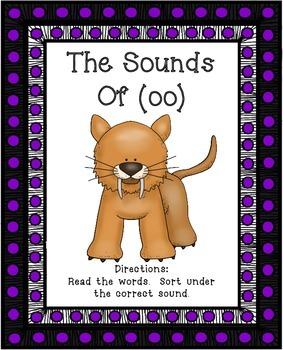 Vowel Teams OO   Sounds of OO   Center