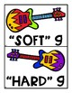 Sounds of Soft and Hard G Guitar Sort