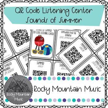 Sounds of Summer QR Code Mini Listening Center