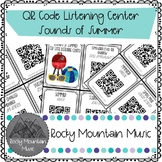 Sounds of Summer QR Code Mini Listening Center