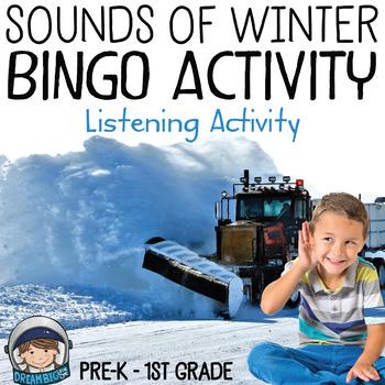Winter Bingo Sounds Activity (Listening Skills)