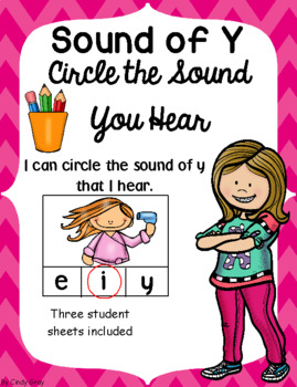 Sounds of Y Circle the Sound You Hear