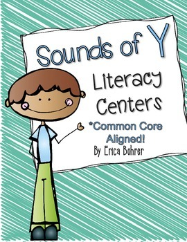 Sounds of Y Literacy Centers