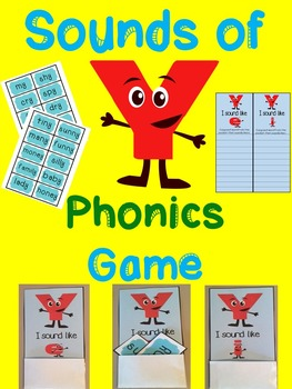 Sounds of Y Phonics Game
