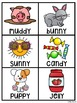 Sounds of Y Pocket Chart Centers and Materials