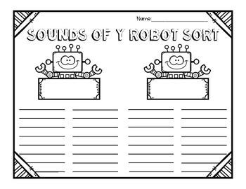 Sounds of Y: Robot Valentine Literacy Center