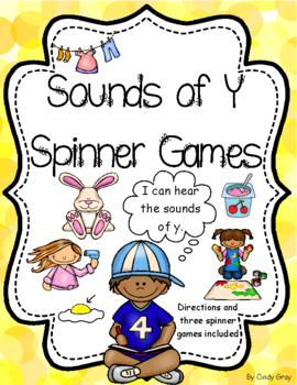 Sounds of Y Spinner Games